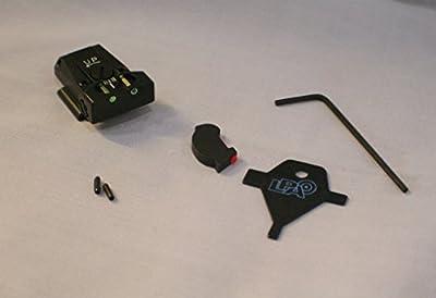 LPA Sight Set, Fully Adjustable Fiber Optic, Ruger P90-P95, P97 –TTF91RU FUSION from LPA