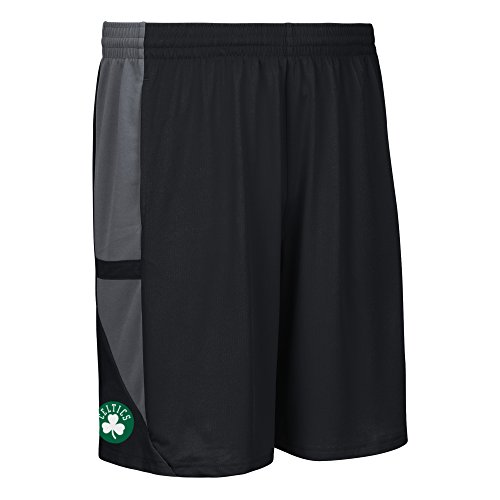 NBA Boston Celtics Men's Tip-Off Mesh Shorts, Xx-Large, Black
