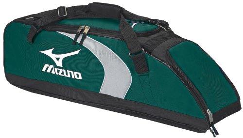 Mizuno Adult Player Premier (Mizuno Premier G3 Bat Bag, Forest/Black)