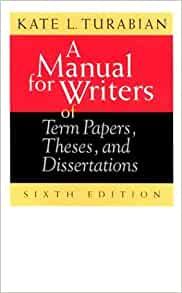 Phd dissertation bibliography turabian style