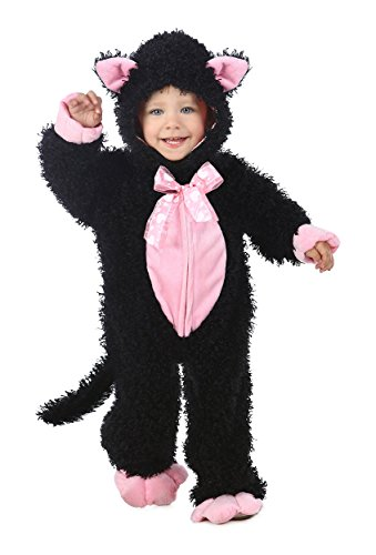 Princess Paradise Baby Black & Pink Kitty, Black, 6 to 12 Months