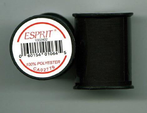 Esprit Black 100% Polyester Thread 164 Yd/vg