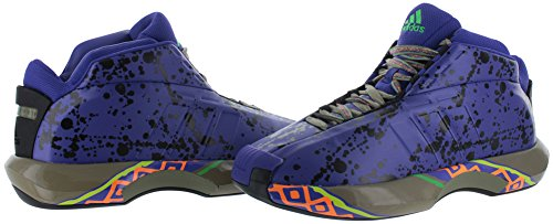 adidas Performance Herren Crazy 1 Basketballschuh Schiefer / Schwarz