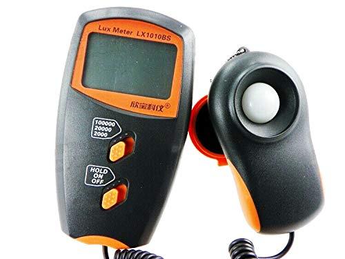 Digital illuminometer luxmeter lux Gauge lightmeter lux Meter 100000 lux luxmeter LX1010BS MOQ=1 by Itechfuture (Image #2)