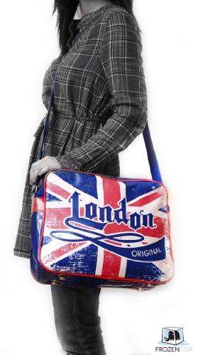 Vintage Union Jack Shoulder Bag   Robin Ruth 2012 Collection   British Flag Bag   Great Britain Flag   United Kingdom Flag   London Bag, Bags Central
