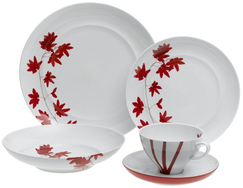 Mikasa Pure Red 5-Piece Place Setting