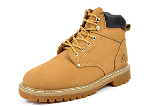Pictures of arctiv8 Men's Full-Grain Leather Work Boots 13 M US 2
