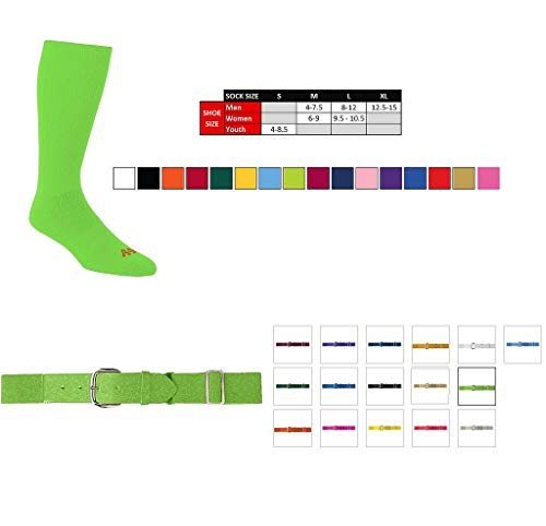 (Cardinal Medium Socks & Youth Belt)