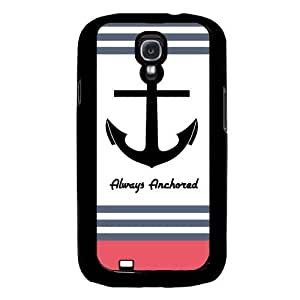 Cool Painting Always Anchored Coral Stripes Samsung Galaxy S4 I9500 Case Fits Samsung Galaxy S4 I9500