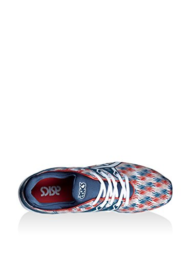 Gel Asics Baskets kayano rouge Mixte Trainer Bleu Evo blanc Adulte Basses Oq6aqnA
