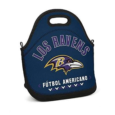 KJSLDHGF Neoprene Designer School Mom Bag Lunch Box Tote Bag Travel Picnic Tote Bag Washable Soft Cotton YKK Zippers