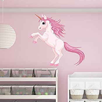 Superior Pretty Pink Unicorn Wall Decal By Style U0026 Apply   Wall Sticker, Vinyl Wall  Art
