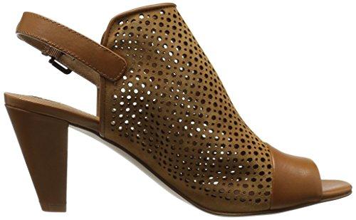 Tahari TA Women's Brown Elsa Sandal Heeled 00Fqgw
