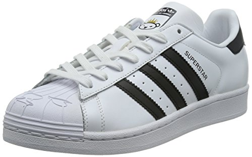 adidas Originals Unisex-Erwachsene Superstar Nigo Bearfoot Low-Top Weiß (Ftwr White/Core Black/Ftwr White)
