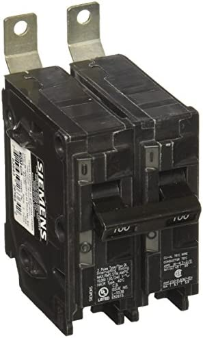 Siemens B2100 100-Amp Double Pole 120 240-Volt 10KAIC Bolt