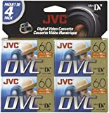 Jvc Mdv60Du4 Mini Digital Video Cassette (4-Pk)