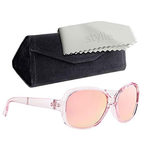 Classic 60s Vintage Sunglasses for Women-Retro Frame Design Polarized