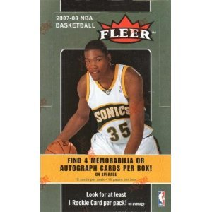 08 Basketball Rookie Pack (2007/08 Fleer NBA Basketball Hobby box (16 Packs))