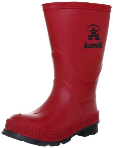 [Kamik Stomp Rain Boot (Toddler/Little Kid/Big Kid),Red,10 M US Toddler] (Next Kids Boots)