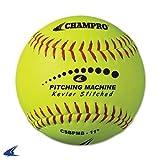 Champro Kevlar Stitched Softballs by the Dozen (Optic Yellow, 12-Inch)