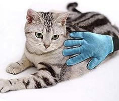 Cepillo para Guantes -con Removedor de pelo para Muebles - Limpieza de Mascotas Para Perros Pequeños, Medianos y Grandes & Gatos Con Pelaje Corto a Largo - Reduce Eficazmente la Caida de