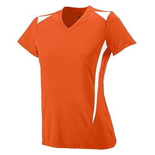 Augusta Sportswear Soccer Shirt - Augusta Sportswear WOMEN'S PREMIER JERSEY S Orange/White