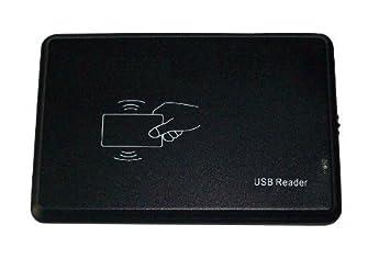 USB HF RFID lector de tarjetas Mifare 14443 A 2H 4H M1 S50 tarjeta de CPU / S70 Utralight MifareDesFire sin contacto