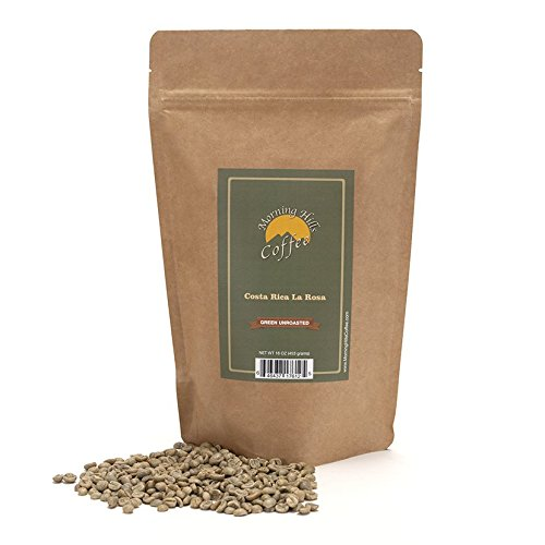 2 Pounds Costa Rica La Rosa Green Unroasted Coffee Beans