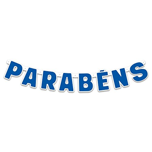 Regina Faixa Parabens R568 Festa Colors Azul Royal