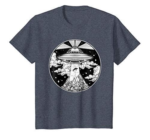 Alien Space Tattoo TShirt - UFO 51 Area Roswell Believe Tee