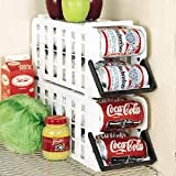 'Store N' Tote Stackable Can Dispenser' from the web at 'https://images-na.ssl-images-amazon.com/images/I/417MCKR6XRL._AC_UL160_SR160,160_.jpg'