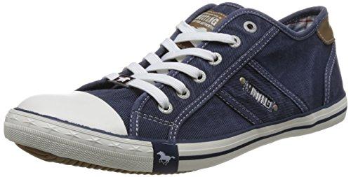 Basses 4058 800 Sneakers Homme Bleu 800 Bleu Dunkelblau Mustang 305 wqgvxIUWfg