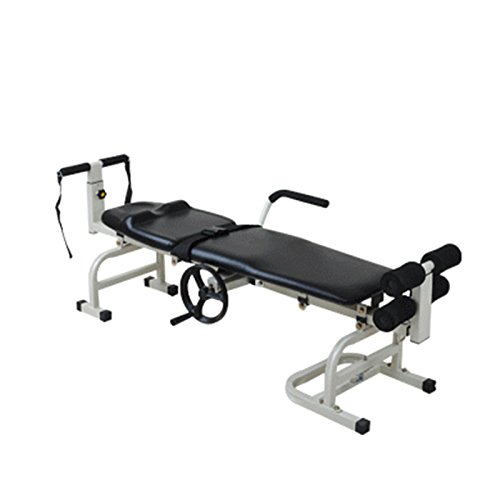 Back Traction Table (Pevor lumbar Traction Stretching Bed, Therapy Massage Bed Table Cervical Lumbar Traction Bed Stretching Home Health Care, Back Stretcher, Improve Posture, Get Muscle Tension, Sciatica Back Pain Relief)