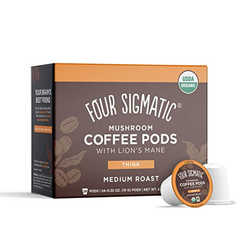 🥇 Four Sigma Foods Mushroom Coffee K-Cups