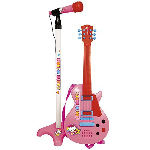 Reig Hello Kitty Guitar and Microphone by Reig