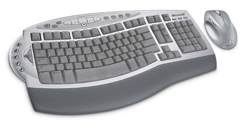 - Microsoft Wireless Laser Desktop 6000 v1 ( B7T-00001 )
