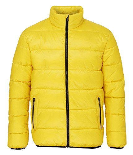 Jacket 000 2786 bright Venture Homme black Blouson Supersoft Yellow Multicolour Padded gwtwq6v
