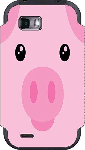 Pig Piggy Piglet Cute Face My Touch Q Vinyl Decal Sticker Skin