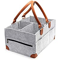 Koolifts Baby Diaper Caddy Organizer with Pockets (Large)