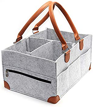 Koolifts Baby Diaper Caddy Organizer with Pockets