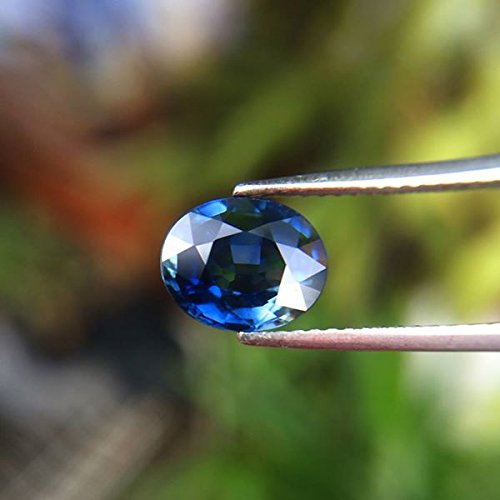 BEAUTIFUL 2.00ct Normal Heated Natural Oval Blue Sapphire Thailand #AB by Lovemom (Image #2)