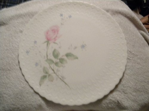 Mikasa April Rose Cake Plate Dessert Pie Cake Server Mikasa Bone China