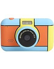 Kindercamera 2800 W Digitale Mini Led-flitser Ips High-Definition-scherm Kinderspeelgoed Geschenken, Dubbele Camera's voor en Achter, Ingebouwd Invullicht, Draagkoordontwerp