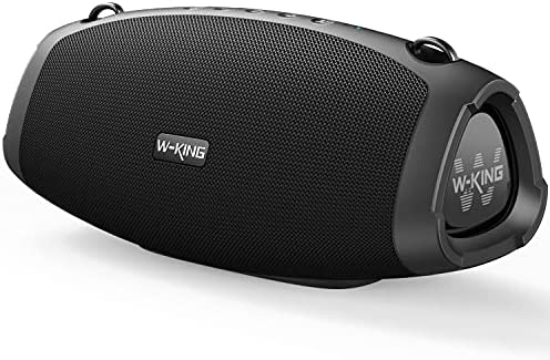 W-KING 70W Bluetooth Speaker with Super Rich Bass, Fast Charging, Bluetooth 5.0, 15000mAh Battery Power Bank, IPX6 Waterproof, Loud Crystal Clear Audio, TWS, Mic for Outdoor, Party, Camping, Home