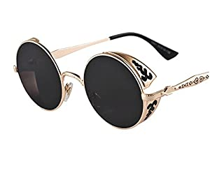 Arctic Star steampunk retro UV sunglasses