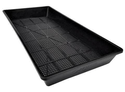 Mesh Bottom Trays - 60 Pack - for Soil Blocks, Wheatgrass, Hydroponic and Fodder Systems Extra Strength 1020 Tray by Bootstrap Farmer by Bootstrap Farmer