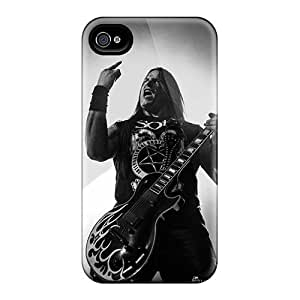 Excellent Hard Phone Case For Iphone 4/4s With Provide Private Custom HD Coal Chamber Band Image Marycase88