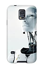 High Quality Technology Robots Case For Galaxy S5 / Perfect Case