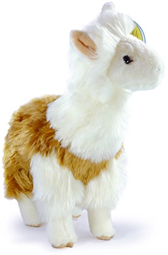 Lea the Peruvian Llama | 11.5 Inch Large Stuffed Animal Plush Alpaca