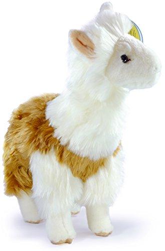 Lea the Peruvian Llama   11.5 Inch Large Stuffed Animal Plush Alpaca